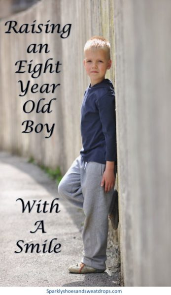 Raising An 8 Year Old Boy With A Smile