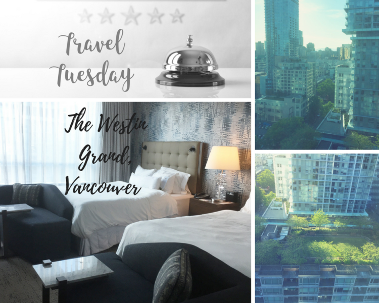 The Westin Grand, Vancouver room and views